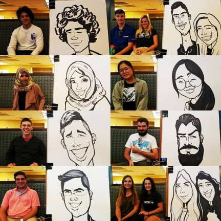Orlando / Kissimmee Party Caricature Artists