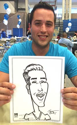 Boston Party Caricature Artist