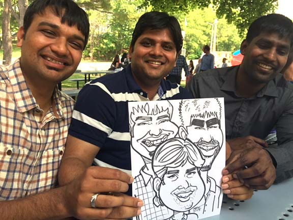 Boston Party Caricature Artists