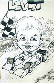 Canton Party Caricature Artist