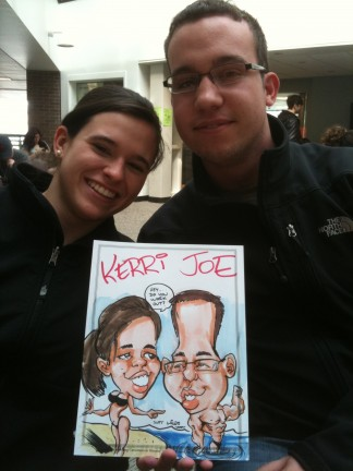 Boston Party Caricatures