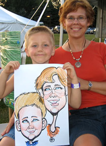 Akron Party Caricaturist