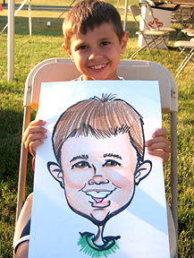 Akron Party Caricature Artist