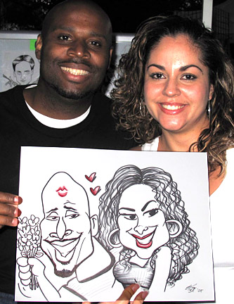 Oakland Party Caricature Artist