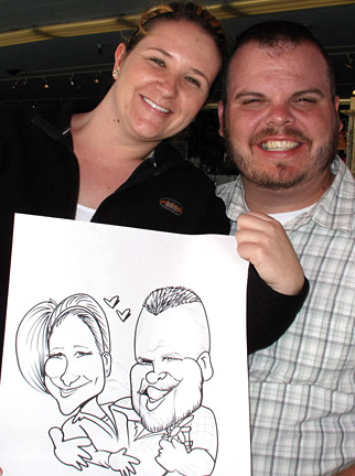 Oakland Party Caricatures