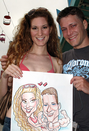 Oakland Party Caricature Artists