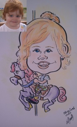 Long Island Party Caricatures