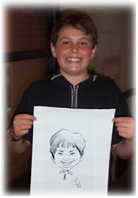 San Diego Party Caricatures