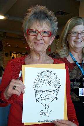 Edmonton Party Caricaturist