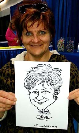 Edmonton Party Caricatures