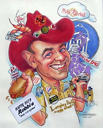 Dallas-Ft Worth Gift Caricaturist