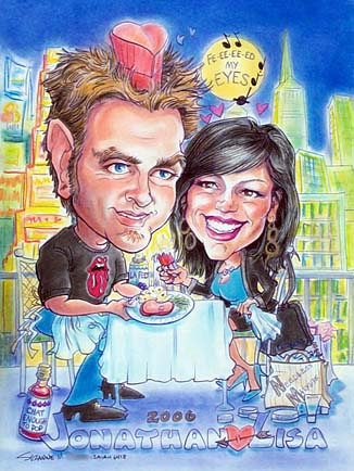Dallas-Ft Worth Gift Caricature Artist