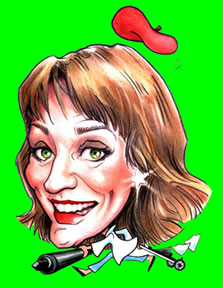 Party Caricature Artist Suzanne