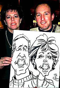 Atlanta Party Caricaturist