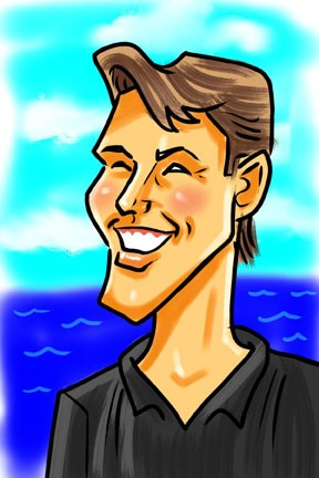 Party Caricature Artist Tiki