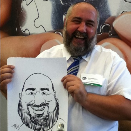 Lansing Party Caricaturist