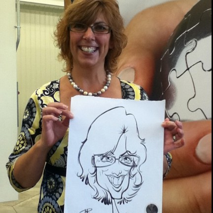 Lansing Party Caricatures