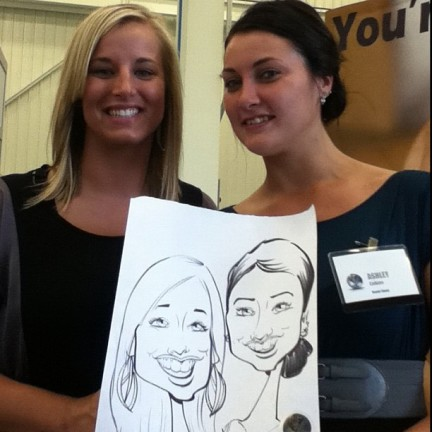Lansing Party Caricature Artists