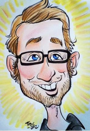 Party Caricature Artist Tod