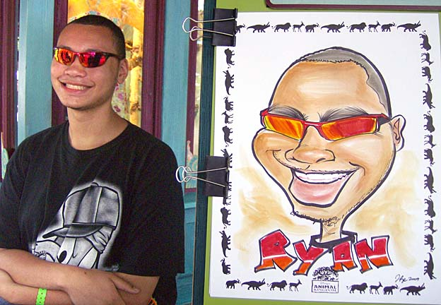 Houston Party Caricature Artist