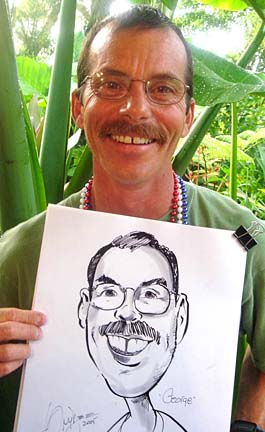 Palm Beach / West Palm Beach Party Caricaturist