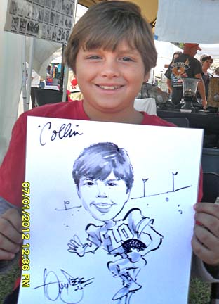 Palm Beach / West Palm Beach Party Caricature Artist