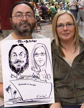 Palm Beach / West Palm Beach Party Caricature Artists