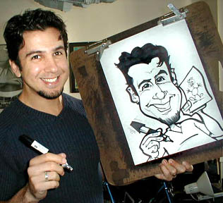 Party Caricature Artist Tony