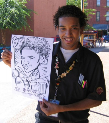 Nashville Party Caricaturist