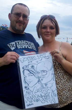Nashville Party Caricature Artists