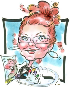 Party Caricature Artist Trudy