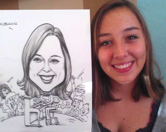 Phoenix / Scottsdale Party Caricaturist