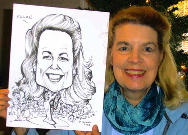 Phoenix / Scottsdale Party Caricatures